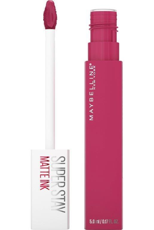 <p>We can't decide what we love most about the <span>Maybelline SuperStay Matte Ink Liquid Lipstick</span> ($9). It's a toss-up between the ultra-pigmented color (which only requires one swipe), the last-through-anything-and-everything formula, the 20-color shade range, or the attractive price tag. Either way, we feel confident saying everyone needs to stock up each one of their handbags with this formula.</p>