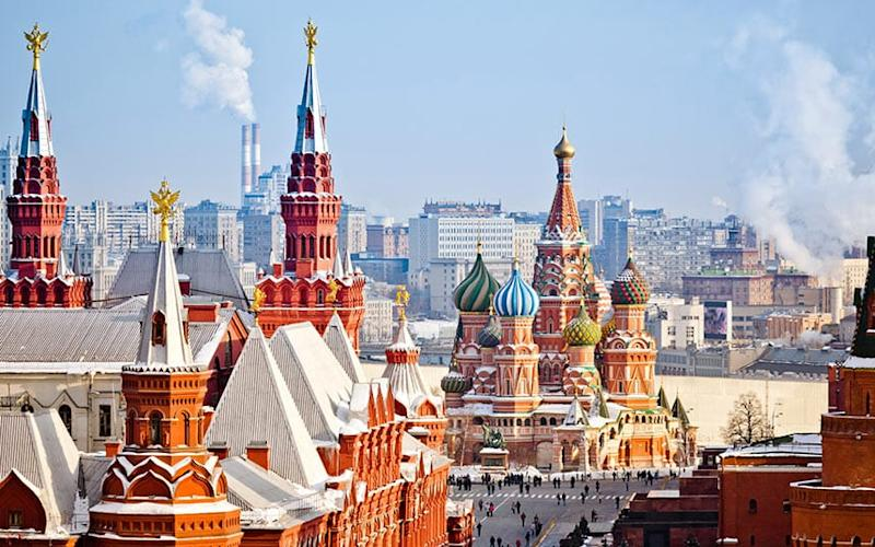 Arrive in Moscow after one of the grandest train journeys in Europe - Mordolff