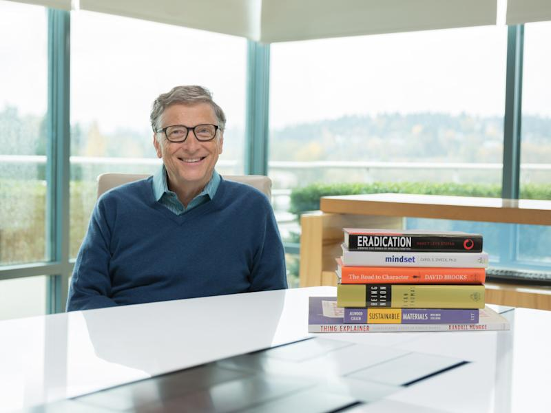 Bill Gates and 2015 Books