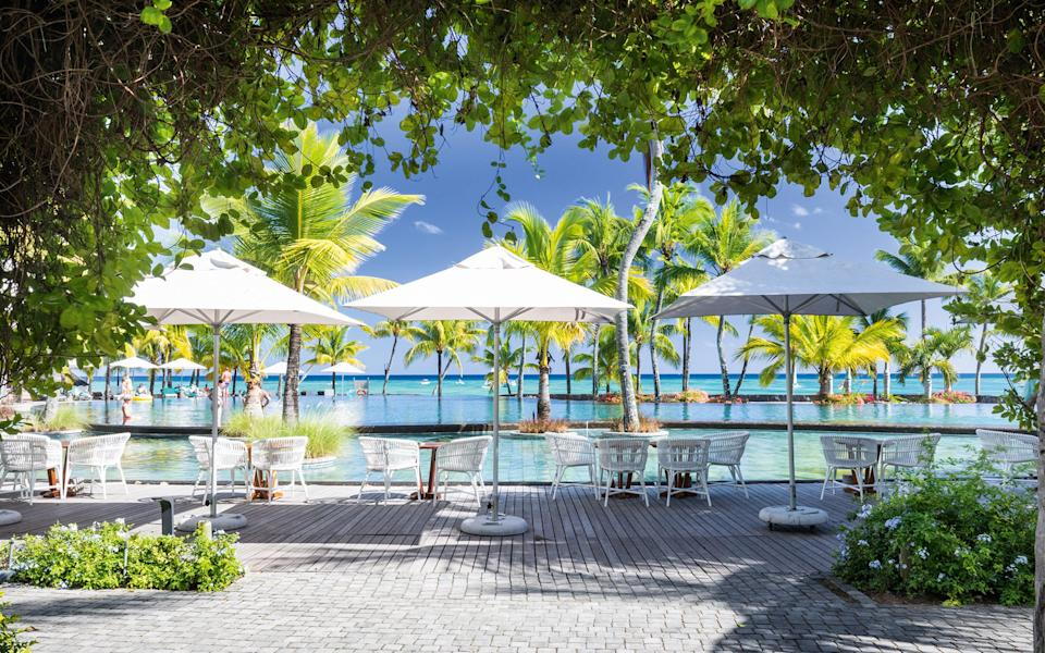 Mauritius is a good option for winter sun, so long as you don't mind staying in your hotel