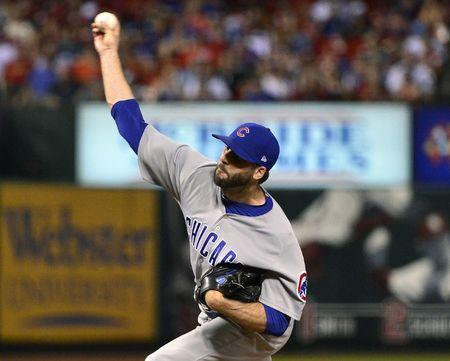 FILE PHOTO: MLB: Chicago Cubs at St. Louis Cardinals