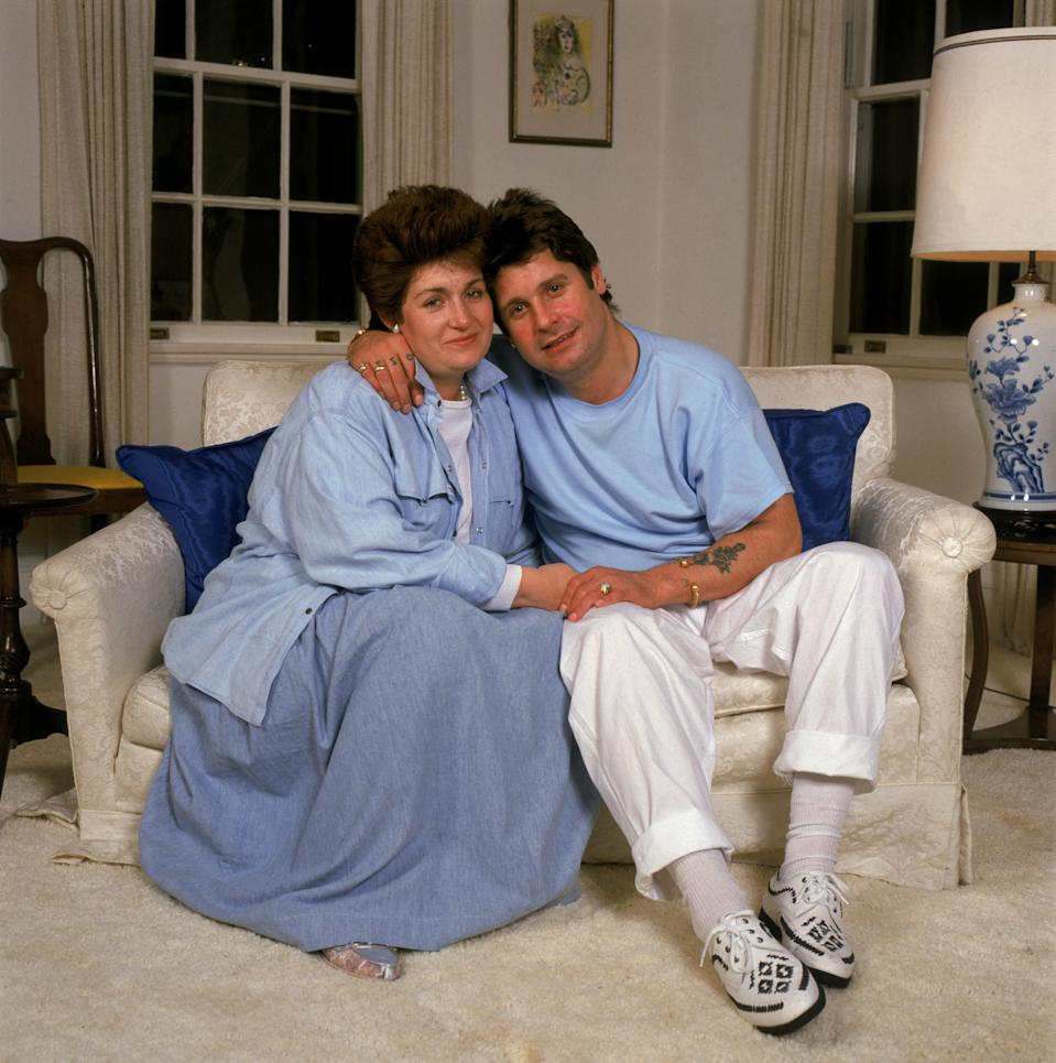Ozzy and Sharon Osbourne have been married for 37 years. (Photo by Dave Hogan/Hulton Archive/Getty Images)