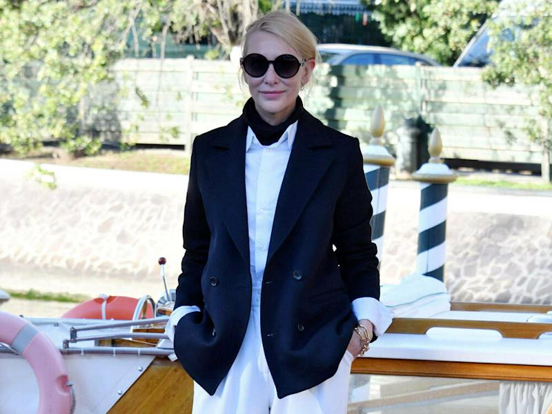 Cool, cooler, Cate Blanchett in Venedig. (Bild: imago images/Independent Photo Agency Int.)