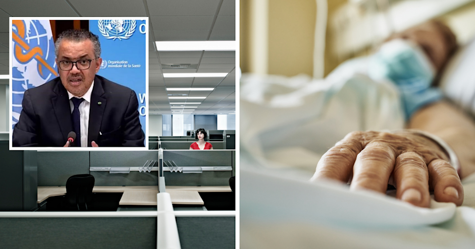The WHO has a brutal warning for any worker considering making this mistake. (Images: Getty).