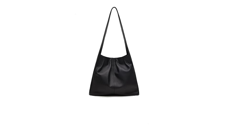 Sustainable leather bag