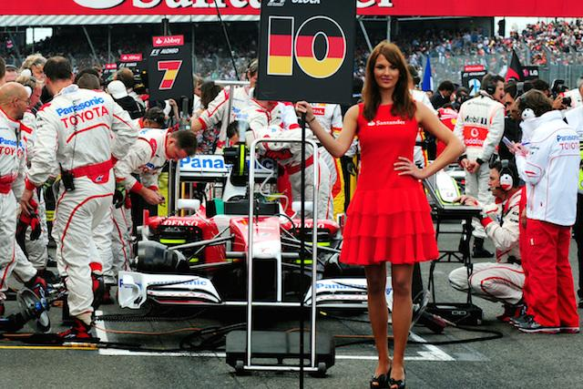 "File photo dated 21/6/2009 of the grid before The Santander British Grand Prix at Silverstone. Outspoken Tory MP Jacob Rees-Mogg has signalled support for Formula One bosses banning ""grid girls"" because he believes women should be treated with respect."