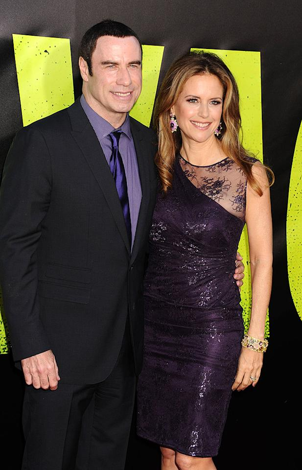 "<p class=""MsoNormal"">After meeting future husband John Travolta on the set of a film in the 1980s, actress Kelly Preston began practicing Scientology, a religion Travolta had been a part of since 1975, and the couple's 1991 marriage was performed by a French Scientologist minister in Paris. In May of this year, Preston said on ""The Conversation With Amanda de Cadenet"" that her religion that helped her deal with the loss of her 16-year-old son Jett, who died in late 2008. ""In Scientology, we have what's called 'auditing,' and that helps you to address things in your life and to strip them away. It's a path of spiritual enlightenment. Also, it helps rid the mind of painful experience completely. Through that, the people at my church literally held my hand and got me through... I will forever be indebted,"" she shared. Jett's death also brought attention to Scientologists' denial of mental and neurological disorders and opposition to psychology and psychiatry. The couple had initially denied that Jett had autism, saying he suffered from a disorder called Kawasaki disease. During the trial of two men accused of extorting the family after Jett's death, however, Travolta admitted for the first time that his son had indeed been autistic. </p>"