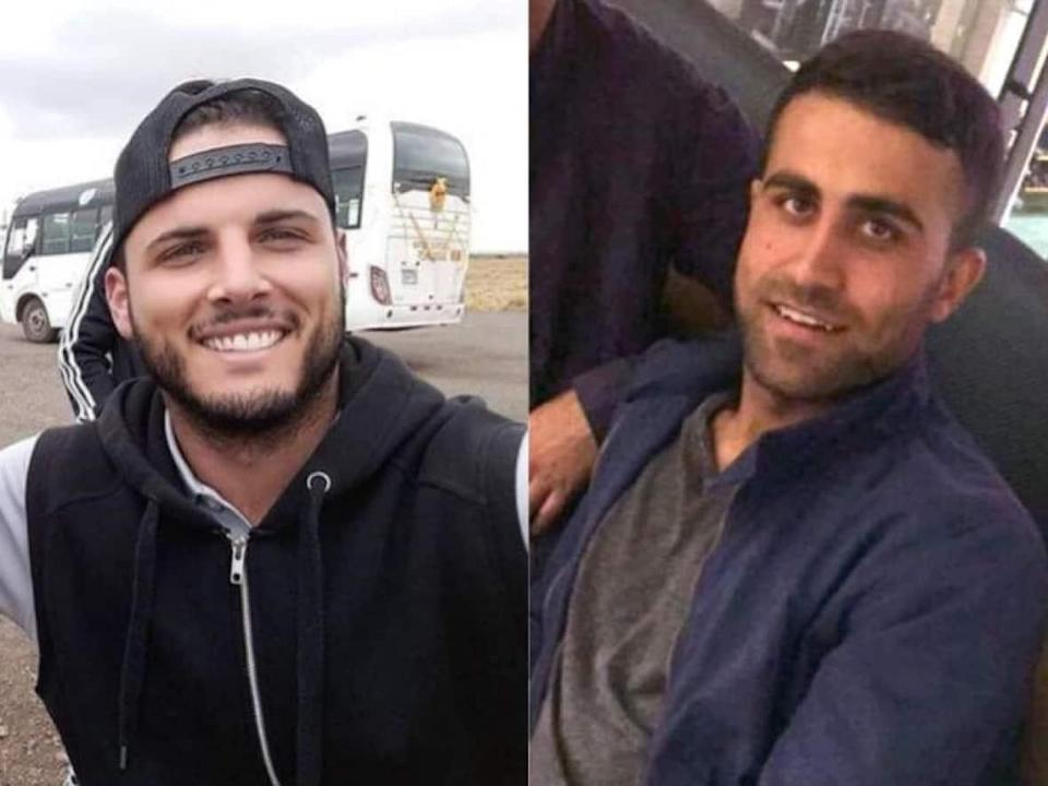 Tyler Mclean and Zemarai Khan Mohammed were killed in the 2017 shooting. (Toronto Police - image credit)