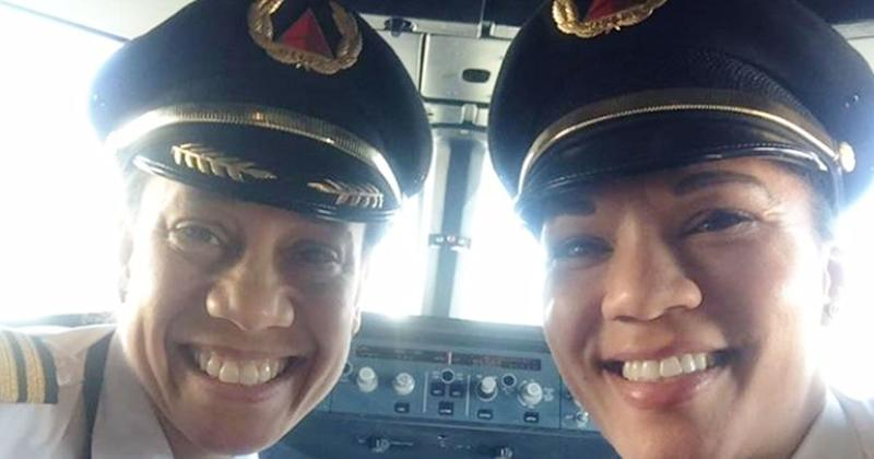 Black Female Pilots Fly Plane Together for First Time in Delta History