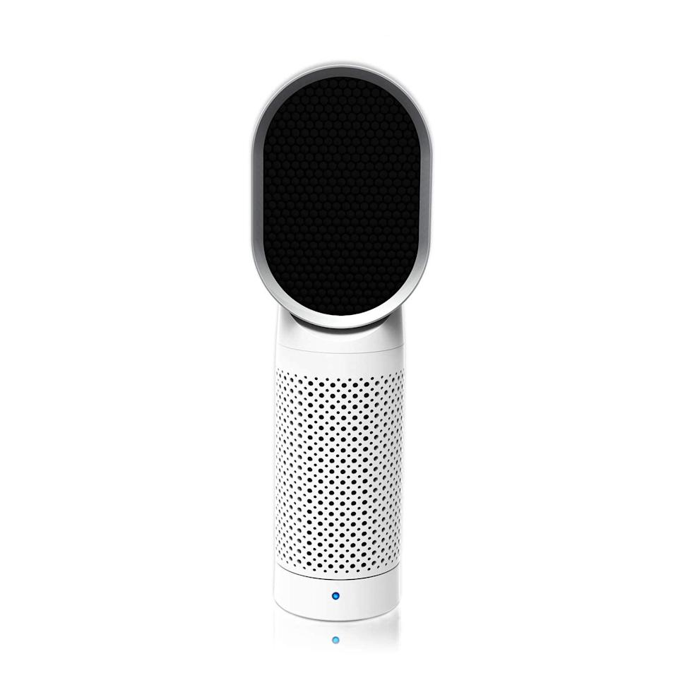 """<strong><h3>Queenty Desktop Air Cleaner</h3></strong> <br>This Lightning Deal purifier boasts a strong HEPA filter, sleek portable design, and compartment for adding drops of your favorite essential oils to enhance your air even further. <br><br><em>Shop </em><a href=""""https://amzn.to/3usc0O3"""" rel=""""nofollow noopener"""" target=""""_blank"""" data-ylk=""""slk:Queenty"""" class=""""link rapid-noclick-resp""""><em>Queenty</em></a><br><br><strong>QUEENTY</strong> Portable Air Purifier With True HEPA Filter, $, available at <a href=""""https://amzn.to/2QimSeX"""" rel=""""nofollow noopener"""" target=""""_blank"""" data-ylk=""""slk:Amazon"""" class=""""link rapid-noclick-resp"""">Amazon</a>"""