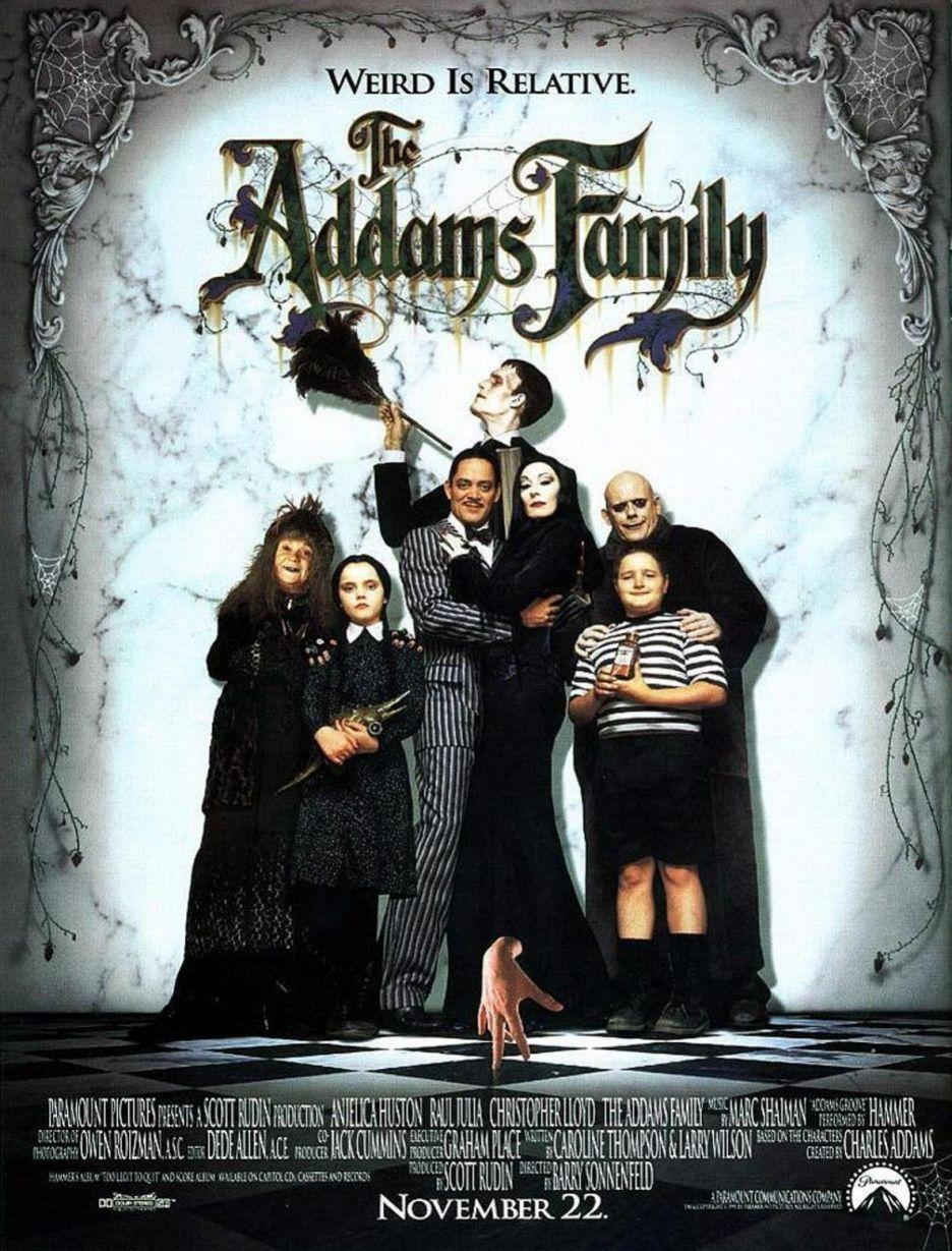 """<p>They're creepy and they're kooky, they're all together kookie ... so they're perfect for Halloween! <em>The Addams Family </em>is the perfect Halloween comedy for your movie marathon!</p><p><a class=""""link rapid-noclick-resp"""" href=""""https://www.netflix.com/title/217258"""" rel=""""nofollow noopener"""" target=""""_blank"""" data-ylk=""""slk:Watch Now"""">Watch Now</a></p>"""