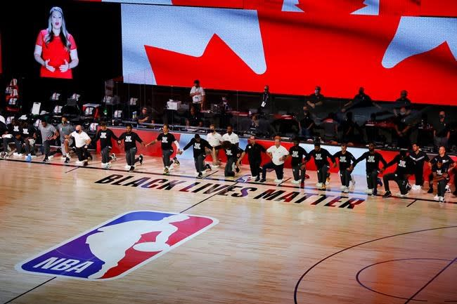Raptors players were among the first to speak up about an NBA boycott
