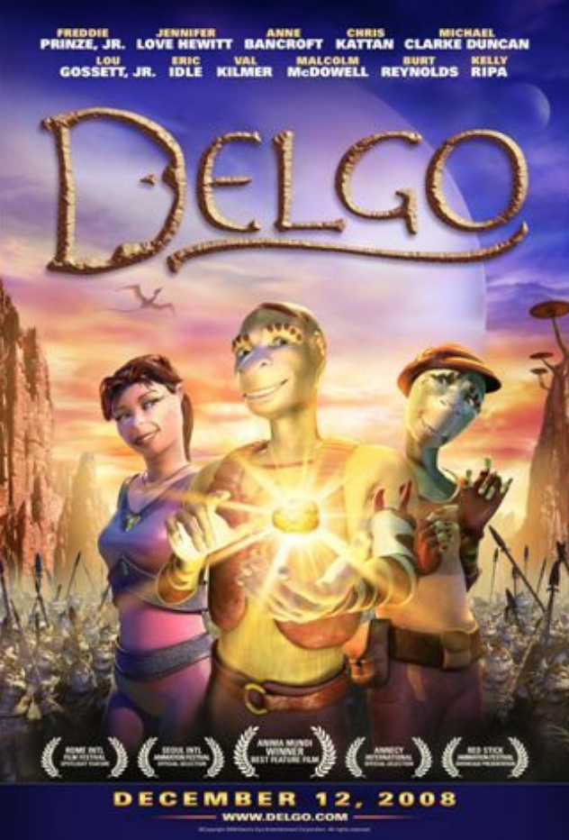 "<p>The animated movie <em>Delgo</em>, starring Freddie Prinze Jr. and Jennifer Love Hewitt, is the lowest grossing animated film in history. With a <a href=""https://www.boxofficemojo.com/release/rl860849665/?ref_=bo_yld_table_270"" rel=""nofollow noopener"" target=""_blank"" data-ylk=""slk:budget of $40 million"" class=""link rapid-noclick-resp"">budget of $40 million</a>, <em>Delgo</em> failed to earn more than a <a href=""https://www.boxofficemojo.com/release/rl860849665/?ref_=bo_yld_table_270"" rel=""nofollow noopener"" target=""_blank"" data-ylk=""slk:mere $1 million at the box office"" class=""link rapid-noclick-resp"">mere $1 million at the box office</a>.</p>"