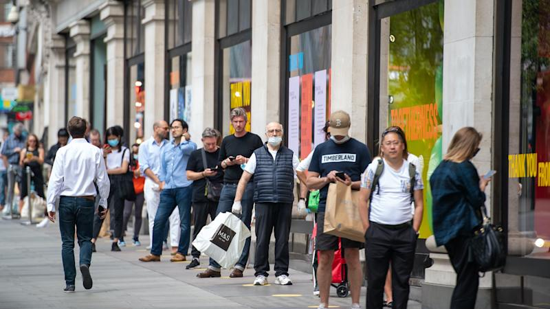 Consumer confidence improving as businesses prepare to open again – index