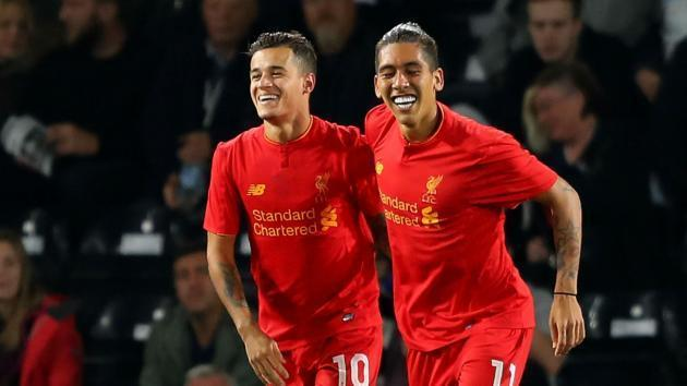 <p>Coutinho lauds 'clever' Firmino</p>