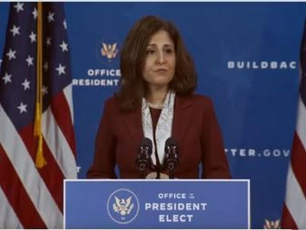 Neera Tanden, the newly appointed director of the Office of Management and Budget (OMB).  (Photo Credit: Biden-Harris Transition Twitter)