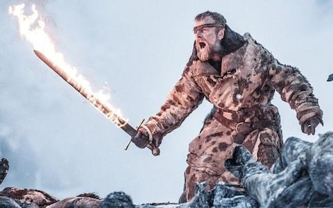 Beric Dondarrion played by Richard Dormer in Game of Thrones