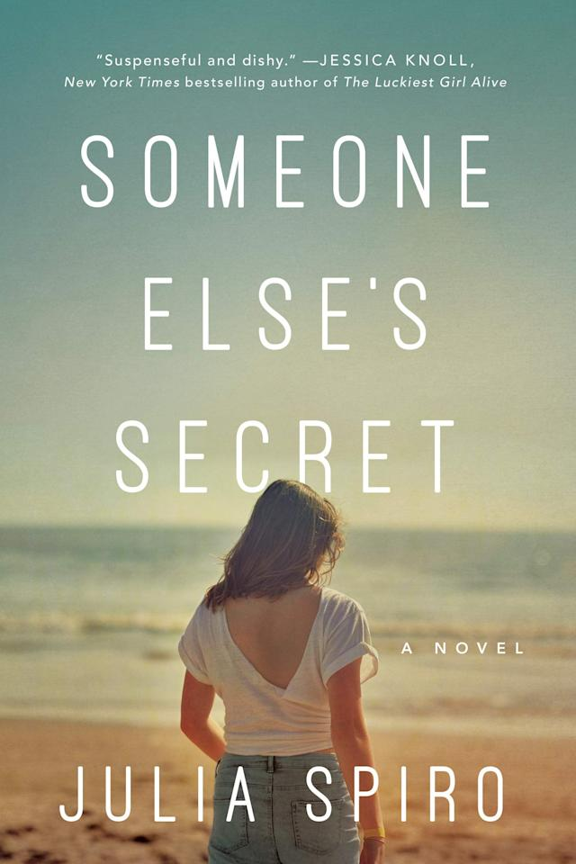 """<p>Two women must confront a shared trauma in Julia Spiro's wrenching <a href=""""https://www.popsugar.com/buy?url=https%3A%2F%2Fwww.amazon.com%2FSomeone-Elses-Secret-Julia-Spiro%2Fdp%2F1542022363%2F&p_name=%3Cstrong%3ESomeone%20Else%27s%20Secret%3C%2Fstrong%3E&retailer=amazon.com&evar1=buzz%3Auk&evar9=47570767&evar98=https%3A%2F%2Fwww.popsugar.com%2Fentertainment%2Fphoto-gallery%2F47570767%2Fimage%2F47570972%2FSomeone-Else-Secret-by-Julia-Spiro&list1=books&prop13=api&pdata=1"""" rel=""""nofollow"""" data-shoppable-link=""""1"""" target=""""_blank"""" class=""""ga-track"""" data-ga-category=""""Related"""" data-ga-label=""""https://www.amazon.com/Someone-Elses-Secret-Julia-Spiro/dp/1542022363/"""" data-ga-action=""""In-Line Links""""><strong>Someone Else's Secret</strong></a>. In 2009, 19-year-old Lindsey and 15-year-old Georgie bond during a summer in Martha's Vineyard where Lindsey is working as the nanny for Georgie's family. However, when a shocking event takes place on the beach, their friendship is shattered, leaving them unable to face what happened that night for 10 long years.</p> <p><em>Out July 1</em></p>"""