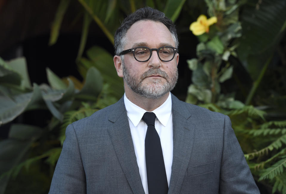 """Colin Trevorrow arrives at the Los Angeles premiere of """"Jurassic World: Fallen Kingdom"""" at the Walt Disney Concert Hall on Tuesday, June 12, 2018. (Photo by Chris Pizzello/Invision/AP)"""