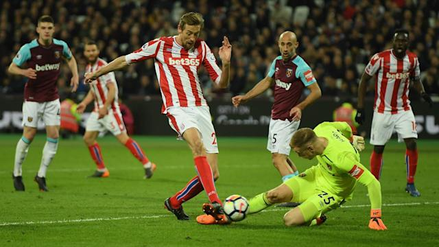 West Ham manager David Moyes said he did not expect Joe Hart to make a vital error in his side's Premier League draw against Stoke City.