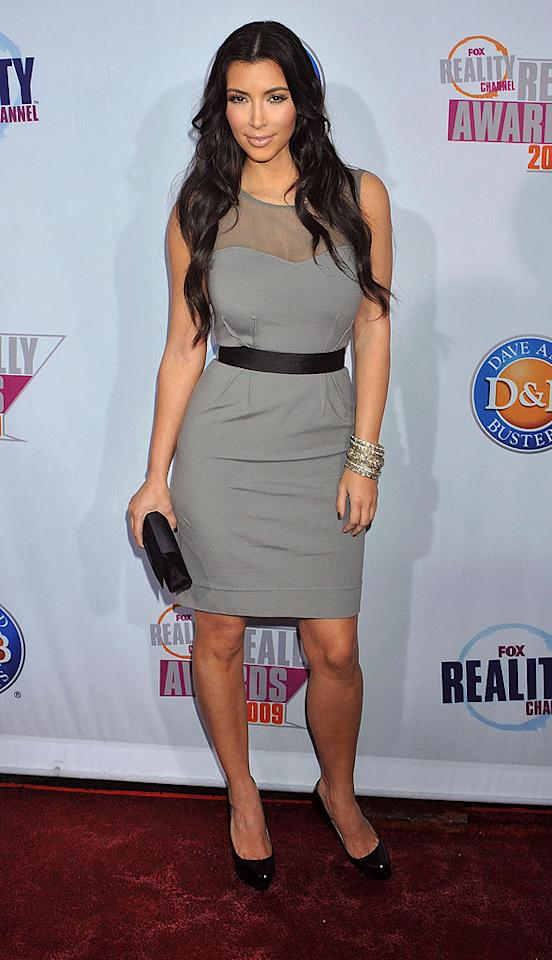 "Is it any surprise that Kim Kardashian was nominated for Really Favorite Hottie? Jeffrey Mayer/<a href=""http://www.wireimage.com"" target=""new"">WireImage.com</a> - October 13, 2009"
