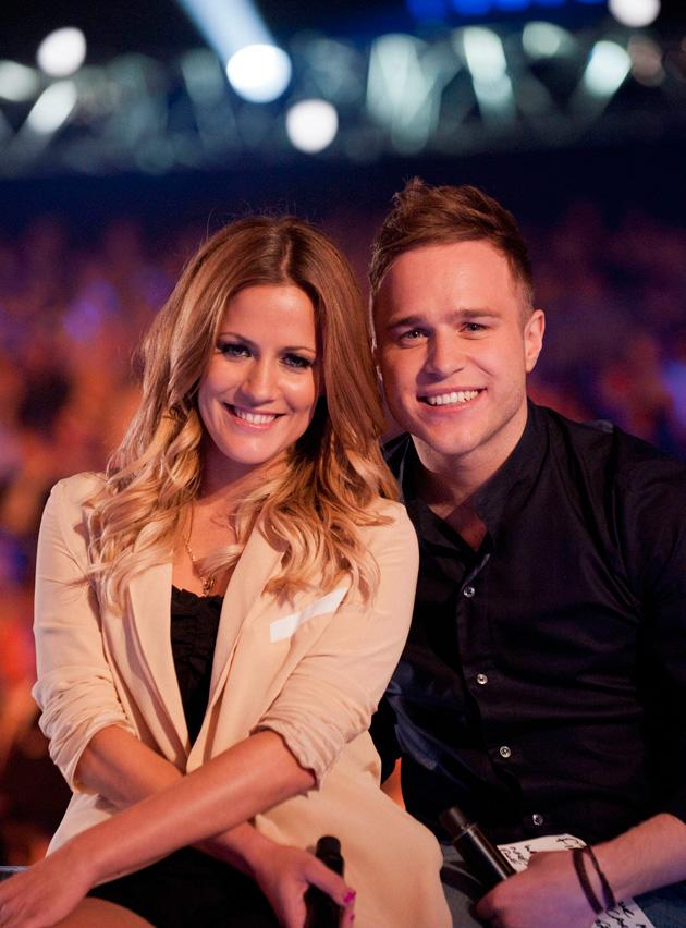 Caroline Flack and Olly Murs are our 'Xtra Factor' presenters