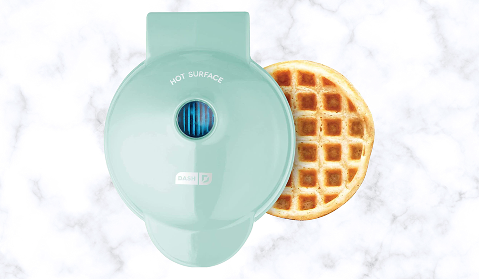 One fun waffle-maker. (Photo: Amazon)