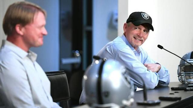 Raiders' Gruden, Maycock are on the same page in more ways than one