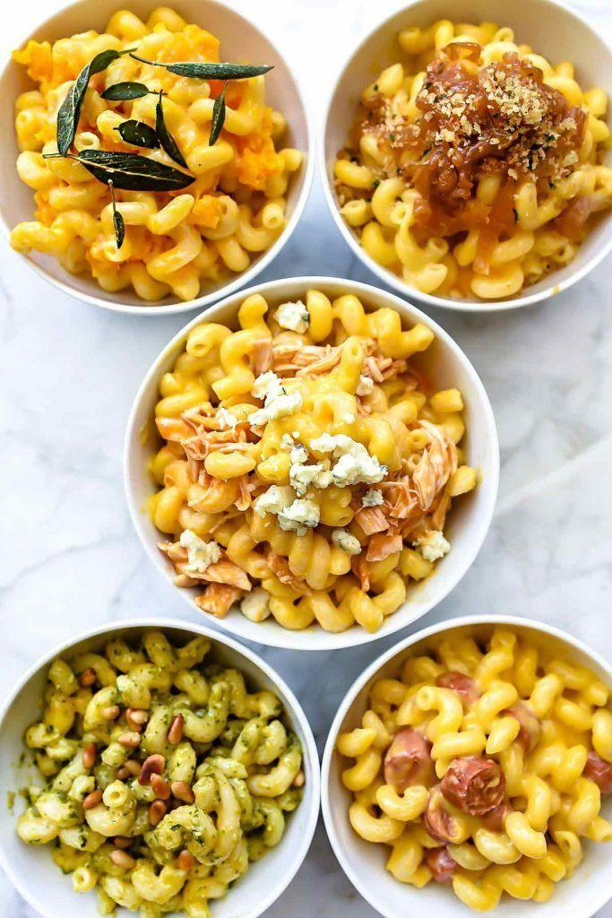 "<strong>Get the <a href=""https://www.foodiecrush.com/instant-pot-macaroni-and-cheese-five-ways/"" rel=""nofollow noopener"" target=""_blank"" data-ylk=""slk:Instant Pot Macaroni And Cheese Five Ways"" class=""link rapid-noclick-resp"">Instant Pot Macaroni And Cheese Five Ways</a> recipe from Foodie Crush</strong>"