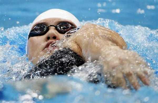 DOPING ACCUSATIONS: China's Ye Shiwen swims to a first place finish during her women's 200m individual medley heat at the London 2012 Olympic Games at the Aquatics Centre July 30, 2012.