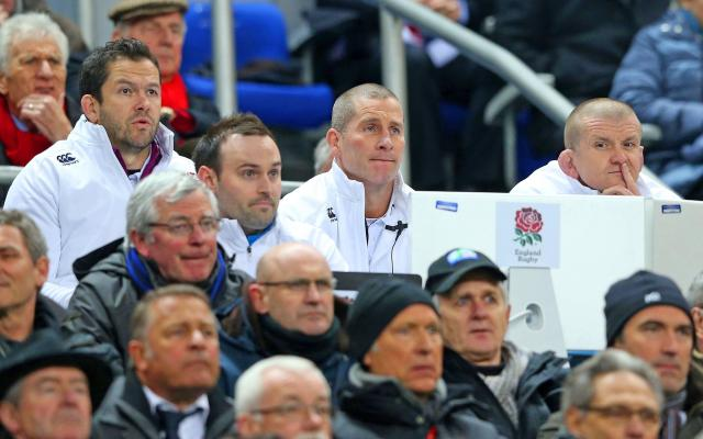 <span>Stuart Lancaster in his previous role as England coach</span> <span>Credit: GETTY IMAGES </span>