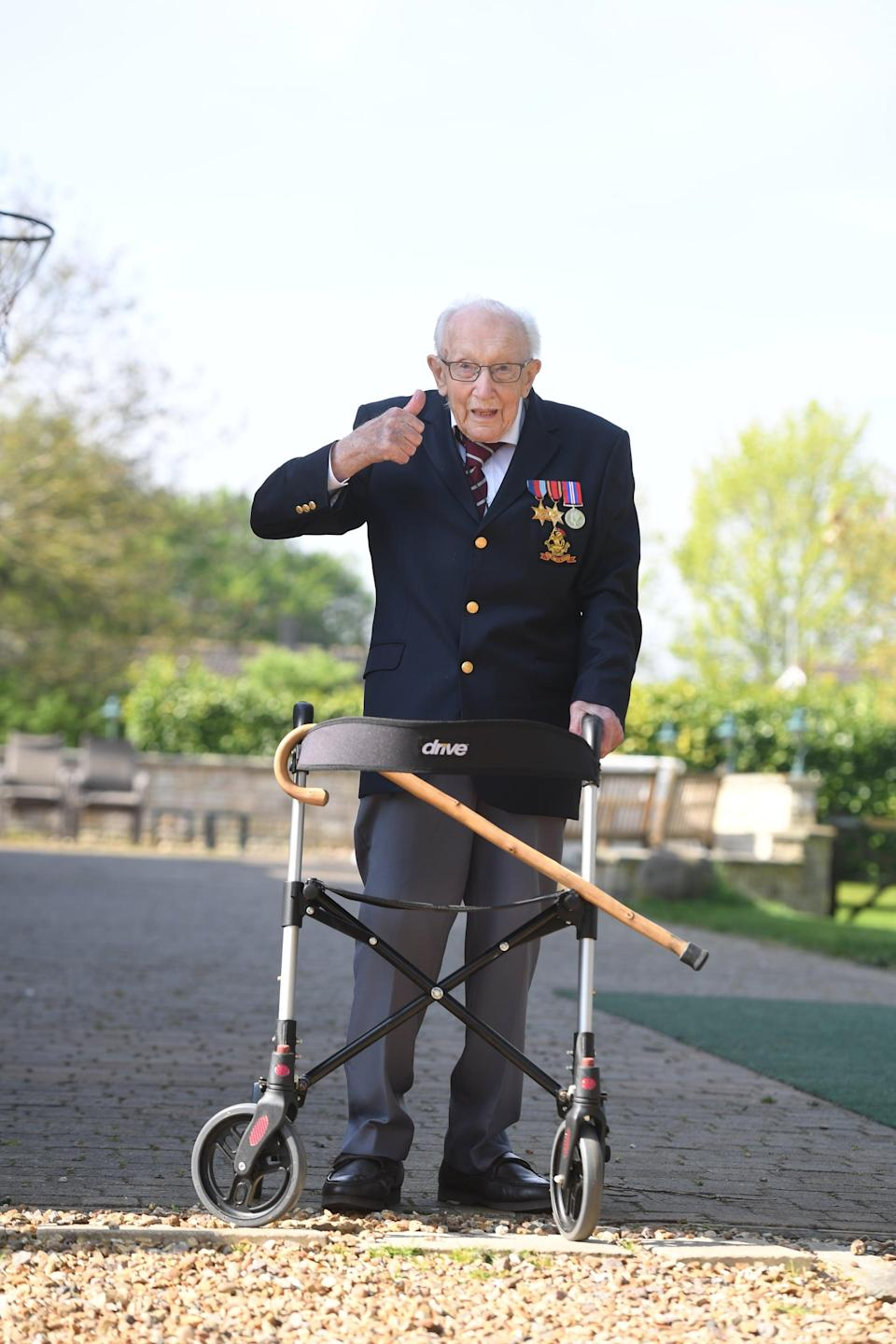 """Captain Sir Tom Moore Has Died: """"Our Father's Life Was Nothing Short of Remarkable"""""""