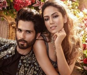Shahid, Mira add glamour to the cover of the Vogue Wedding Book