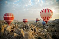 """<p>This region of the Eastern European country is known for its history and interesting geography such as the rock formations called """"fairy chimneys."""" </p>"""