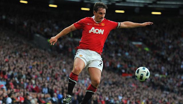 "​Legendary Manchester United defender Gary Neville has surprisingly suggested that seven current Red Devils stars would have been good enough to play in the famous treble winning side of 1999. Arguably Sir Alex Ferguson's greatest achievement as United boss, the Red Devils won the Premier League, the FA Cup and the Champions League all in the 1998/1999 season. ""There's quite a few."" Gary Neville: They'd get into Man Utd's treble-winning team - https://t.co/ztYwD6xCrN..."