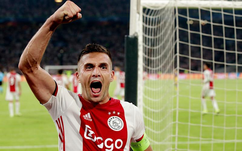 Dusan Tadic wants to make amends for Ajax's agonising defeat against Tottenham - Getty Images Europe