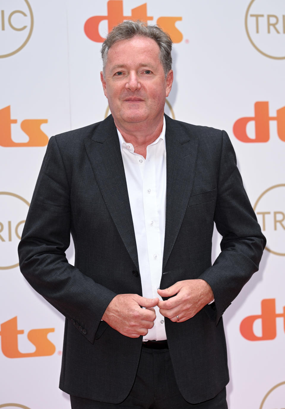 LONDON, ENGLAND - SEPTEMBER 15: Piers Morgan attends The TRIC Awards 2021 at 8 Northumberland Avenue on September 15, 2021 in London, England. (Photo by Karwai Tang/WireImage)