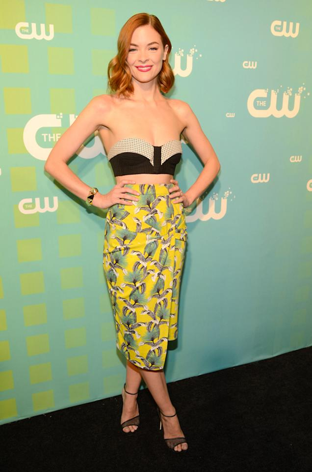 """Jamie King (""""Hart of Dixie"""") attends The CW's 2012 Upfronts on May 17, 2012 in New York City."""