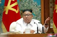 'The vicious virus could be said to have entered the country,' said North Korean leader Kim Jong Un