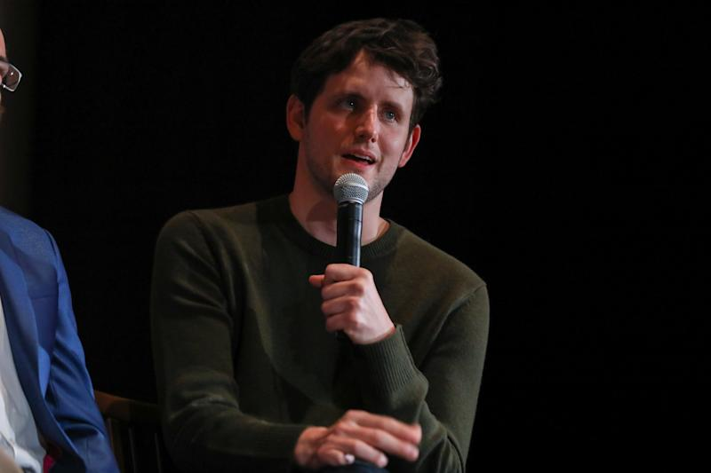 SAN FRANCISCO, CALIFORNIA - OCTOBER 16: Actor Zach Woods speaks onstage on October 16, 2019 in San Francisco, California. (Photo by FilmMagic/FilmMagic for HBO)