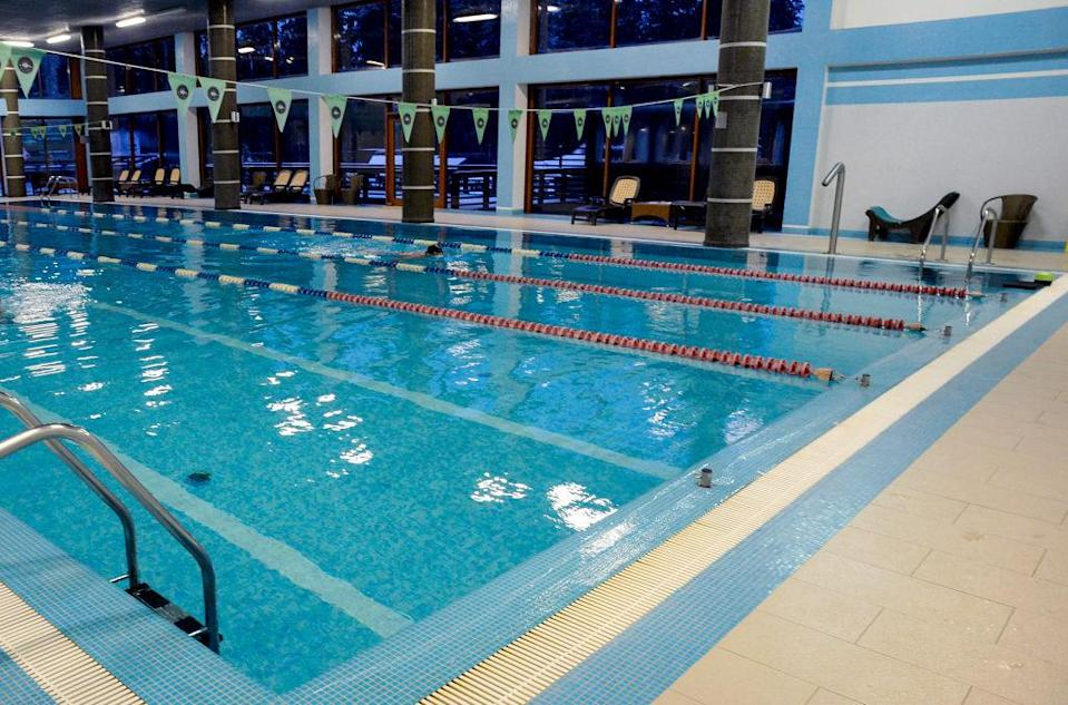 <p>The Three Lions' hotel even has a pool on site. (GETTY) </p>