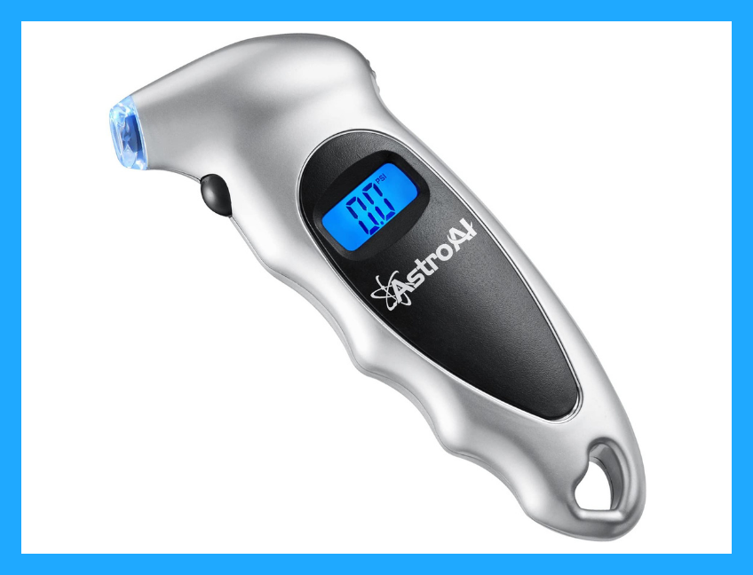 This AstroAI Digital Tire Pressure Gauge is only $11. (Photo: Amazon)