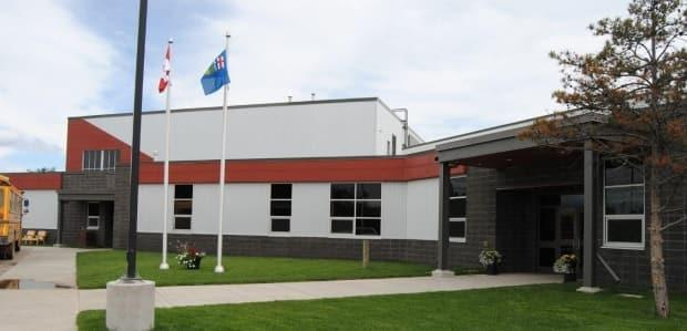 Parents pulled 55 students from classes at the Menno Simons K-12 school in Cleardale, Alta., 140 kilometres northwest of Grande Prairie, last Monday. (Menno Simons Community School - image credit)