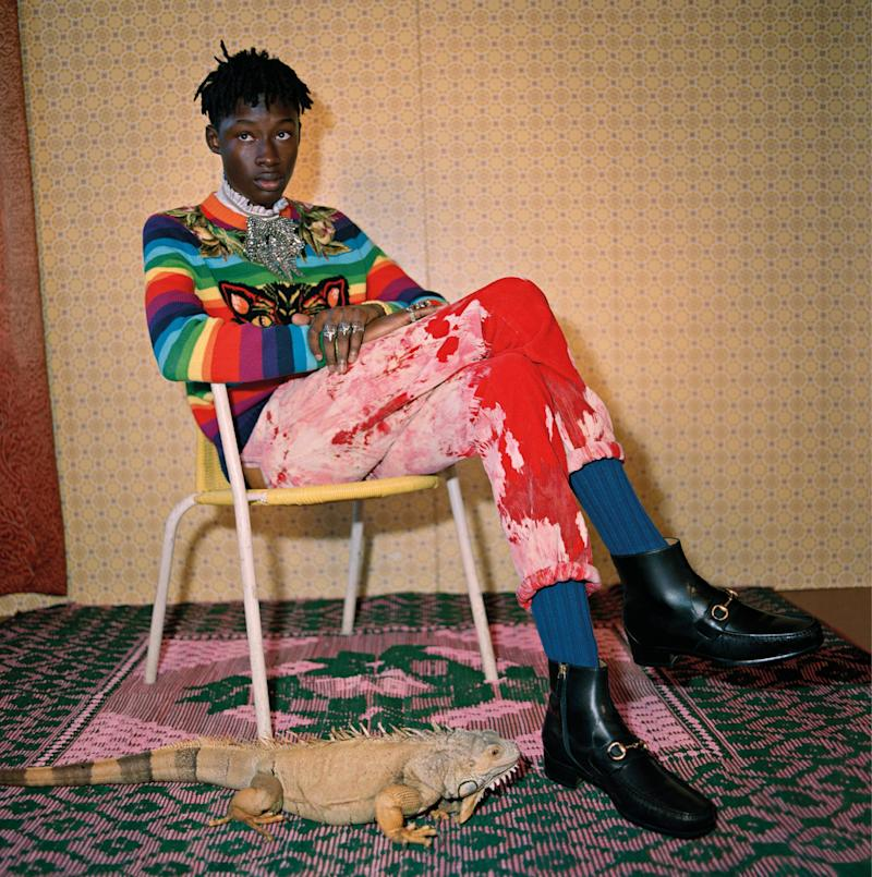 Gucci's New Ads for Pre-Fall 2017 Star Only Black Models