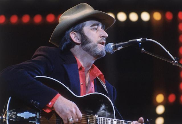 <p>Don Williams was a country singer and songwriter, and a member of the Country Music Hall of Fame. He died Sep. 8 of emphysema at the age of 78.<br> (Photo: Getty Images) </p>
