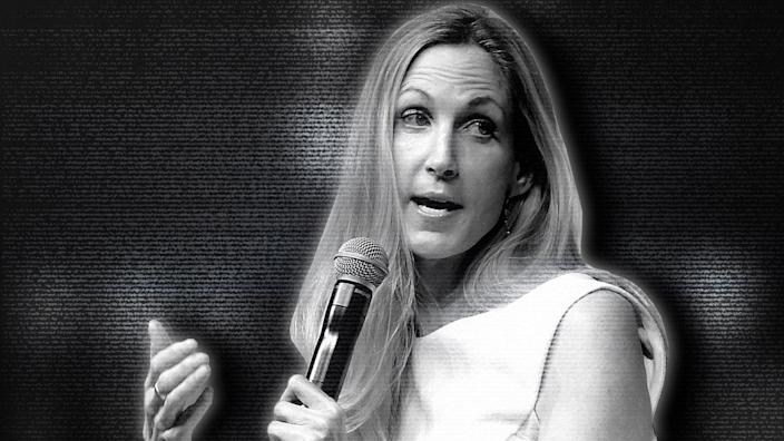 Ann Coulter. (Photo illustration: Yahoo News; photo: Jason Kempin/Getty Images)
