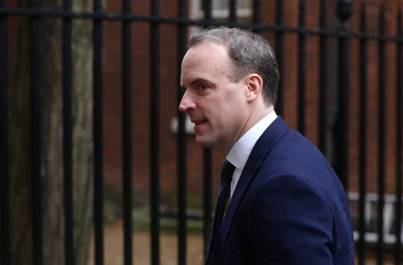 Britain expects EU to offer Canada-style trade deal as promised - UK's Raab