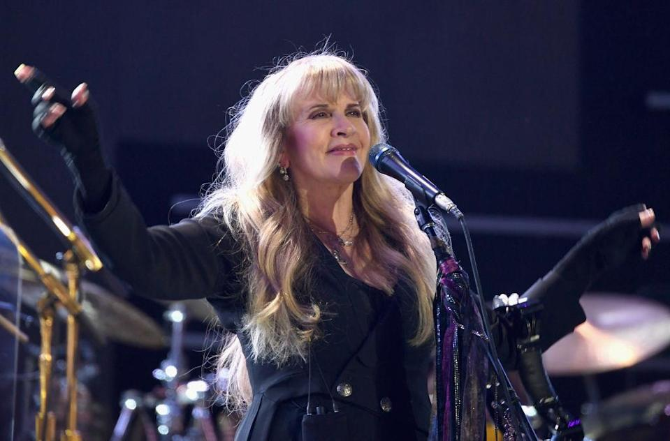 Stevie Nicks performs at the 2018 iHeartRadio Music Festival on Sept. 21, 2018, in Las Vegas. (Photo: Denise Truscello/Getty Images for iHeartMedia)
