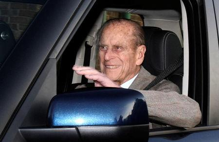 UK's Prince Philip, 97, Gives Up Driver's License After Crash