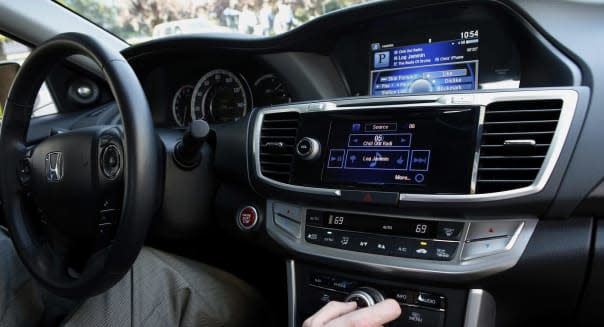 Demonstration Of The New Pandora Operation In A Honda Vehicle